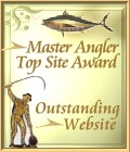 Master Angler Top Fishing Site Award